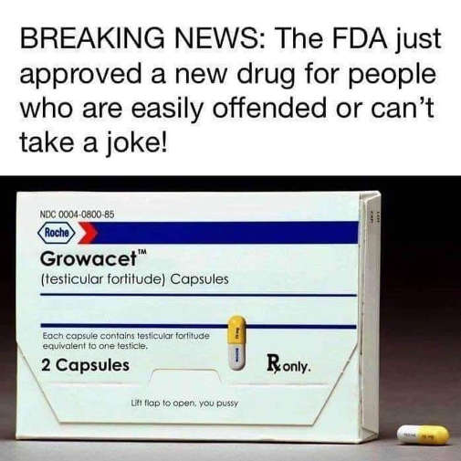 breaking news fda approved drug people easily offended growacet capsules