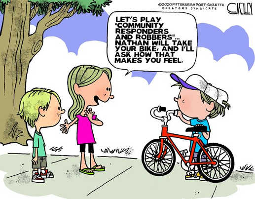 community responders robbers take your bike ask how you feel