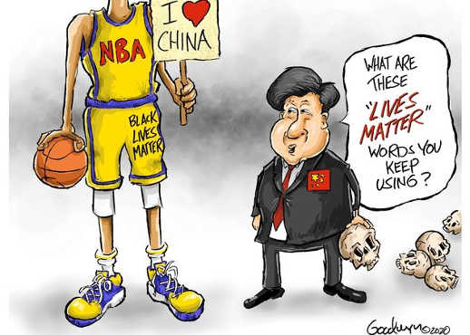 nba i love china what are lives matter words you keep using
