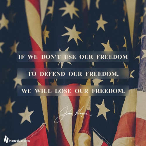 quote john hancock if we dont use our freedom to defend we will lost it