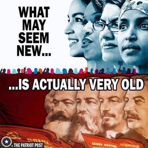 squad what may seem new actually very old aoc ohar tlaib stalin marx lenin