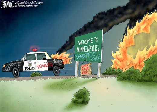 welcome to minneapolis democrats rule defund police