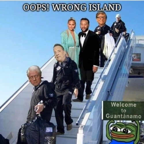 bill gates tom hanks bill clinton epstein island guantanamo