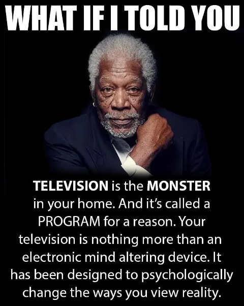 message what if it told you television program designed psychologically alter how view reality