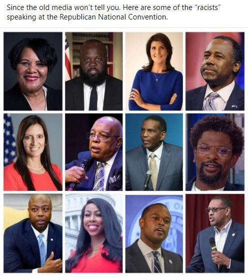racists speaking at rnc carson haley scott media wont tell you