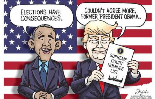 barack obama elections have consequences trump supreme court couldnt agree more