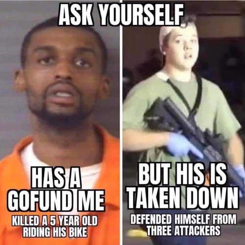 gofundme bias killed 5 year old ok defended his life taken down