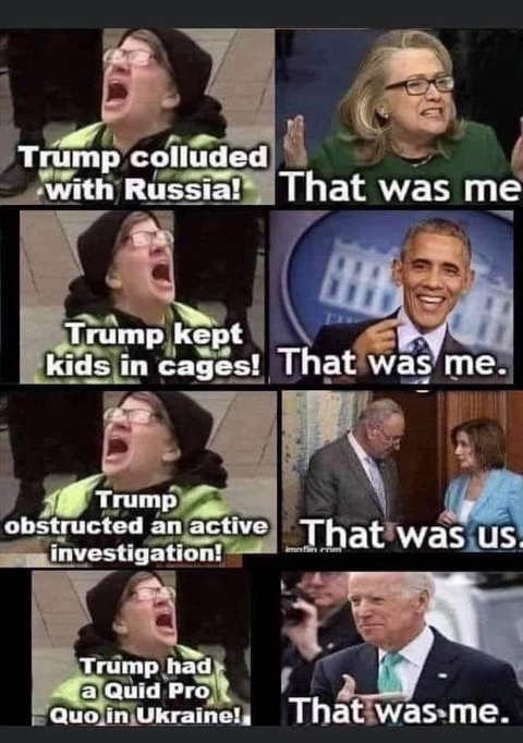 liberal screaming hillary russia obama cages obstruction pelosi schumer ukraine joe biden