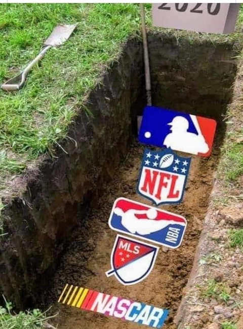 mlb nfl nba nascar mls buried grave