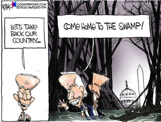 joe biden lets take back our country come home to dc swamp