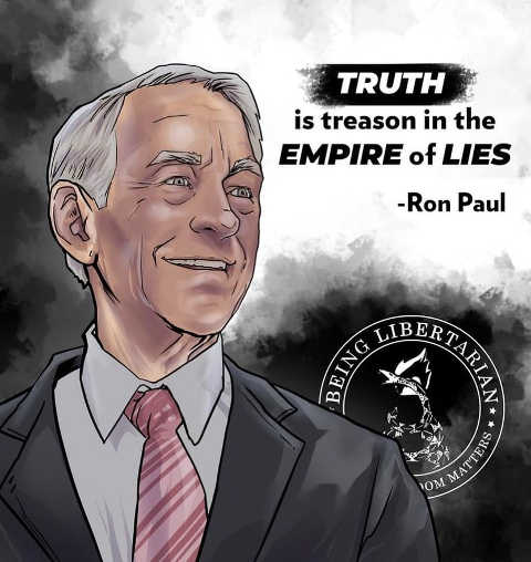 quote truth is treason in the empire of lies ron paul