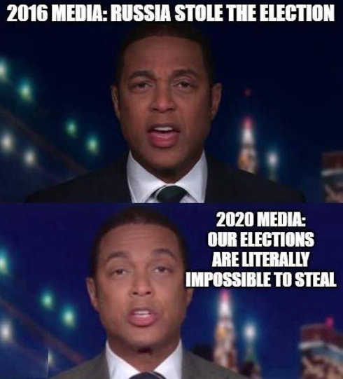 2016 media russia stole election 2020 impossible to steal don lemon