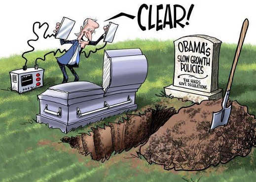 joe biden clear paddles obamas slow growth policies tax hikes