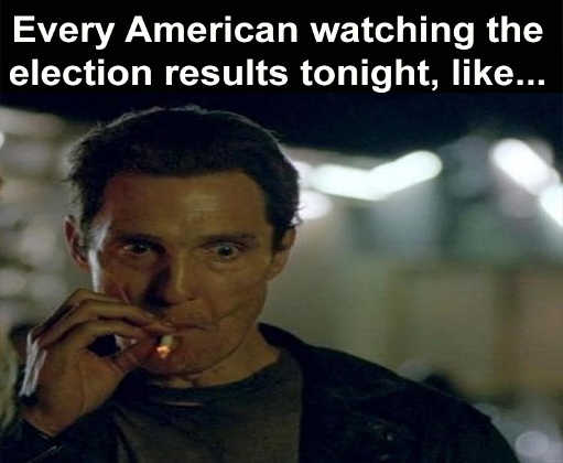 mcconahey every american watching election results cigarette stress