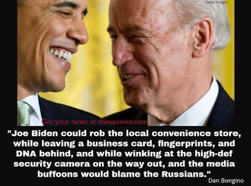 quote bongino joe biden could rob convenience store dna camera media would blame russians