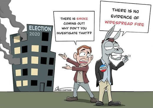 smoke election 2020 investigate media no evidence widespread fire