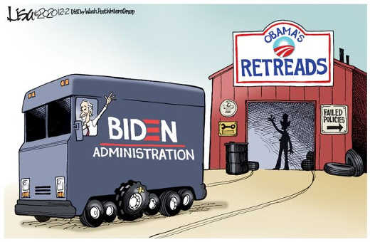 joe biden obama retread tires failed policies