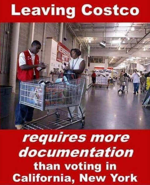 leaving costco requires more documentation than voting new york california