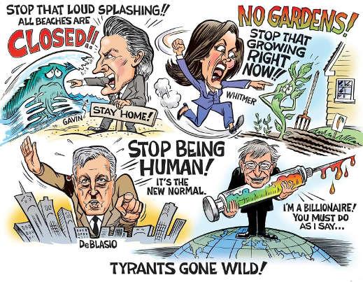 tyrants gone wild gavin whitmer deblasio bill gates