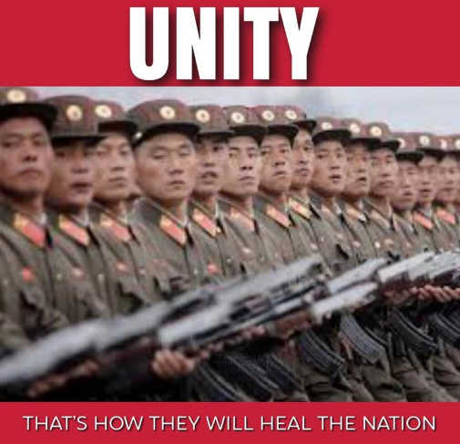 china soldiers unity thats how they will heal the nation