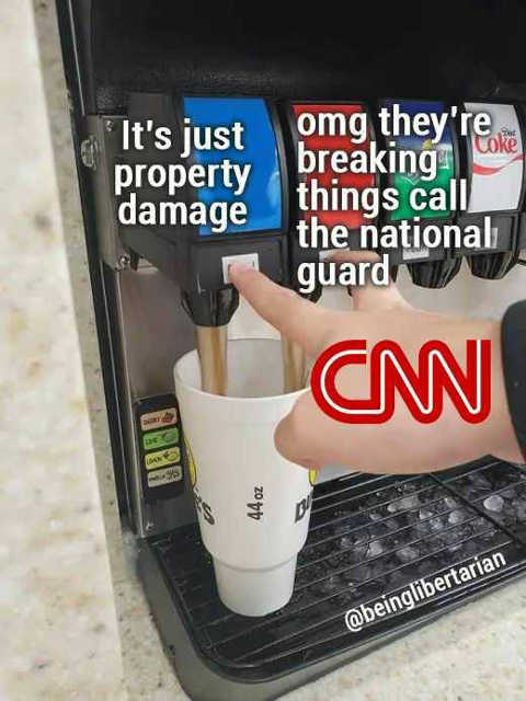 cnn just property damage omg breaking things call national guard