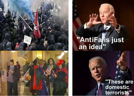 joe biden antifa just an idea american patriots domestic terrorists