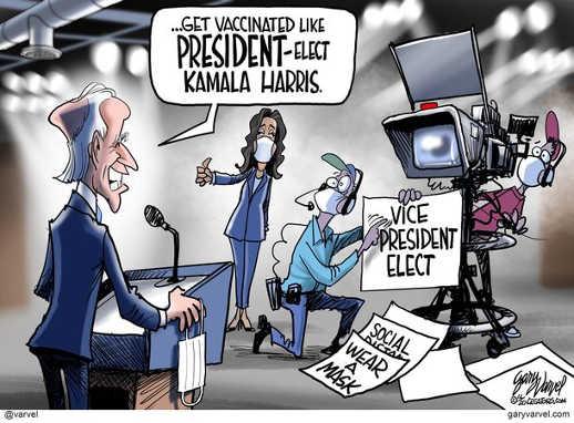 joe biden get vaccinated like president elect kamala harris