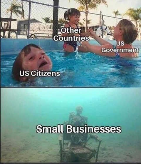 swimming other countries us government citizens small businesses drowning