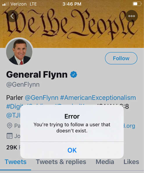 twitter bans general flynn account