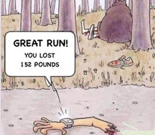 great run lost 152 pounds severed arm bear