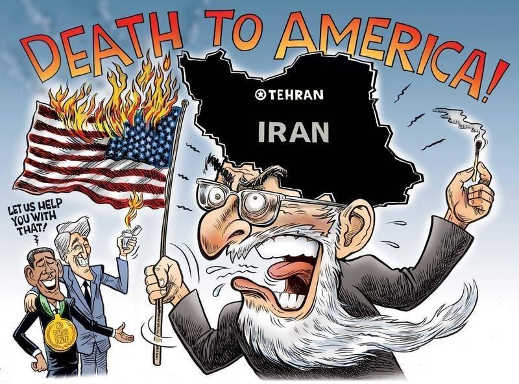iran death to america let us help you with that obama john kerry