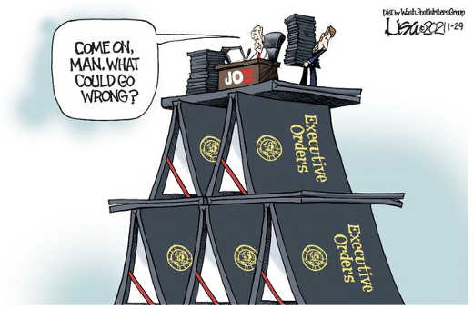 joe biden house of cards what could go wrong executive orders