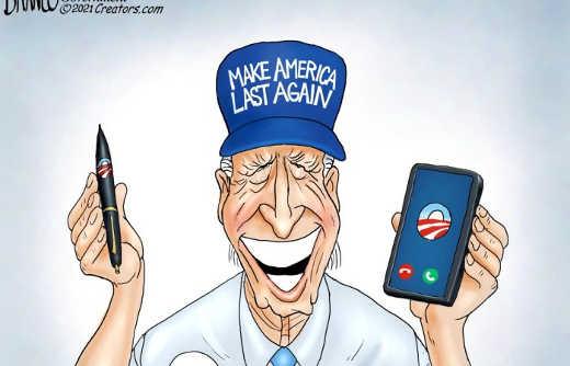joe biden make american last again executive order pen