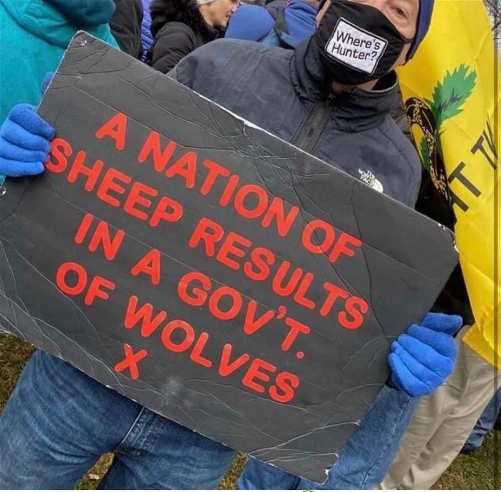 message nation of sheep results in government of wolves