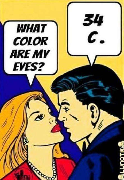 what color my eyes 34c