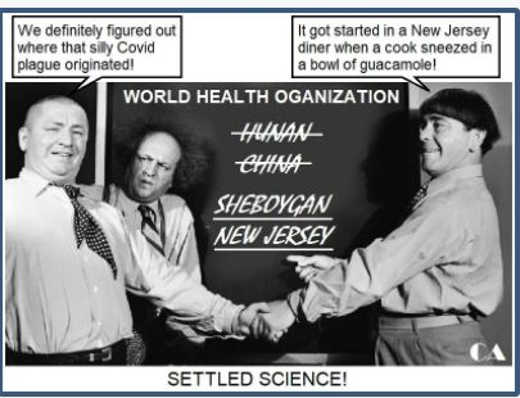 who world health organization stooges covid wuhan new jersey