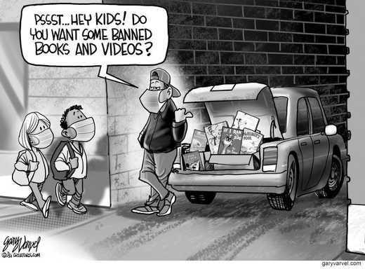 cancel culture hey kids want banned books videos trunk car