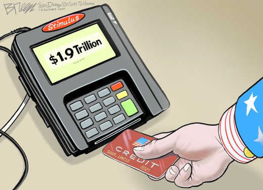 joe biden 1.9 trillion credit card debt