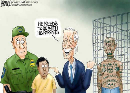 joe biden kids need to be with ms 13 parents