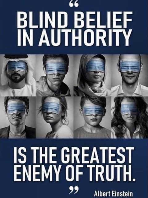 quote albert einstein blind faith in authority greatest enemy of truth