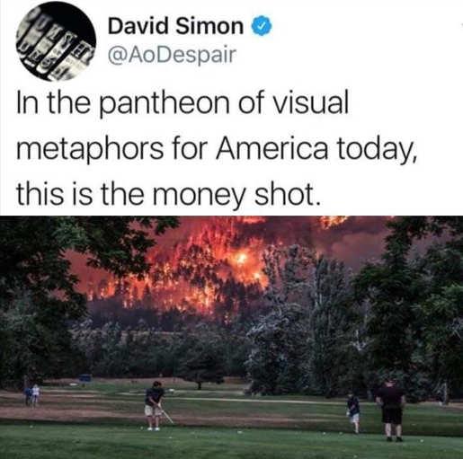 tweet david simon visual metaphors of america