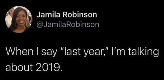 tweet jamila robinson last year 2019