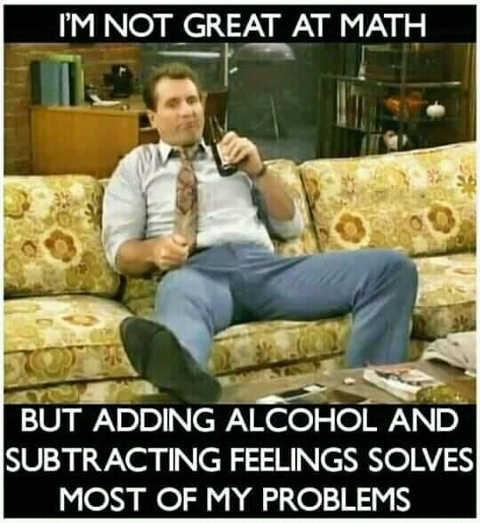 al bundy couc feelings alcohol