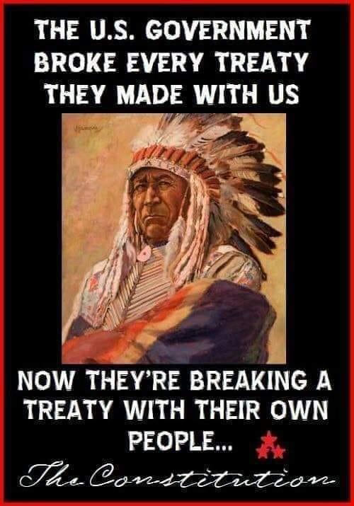 indian us government broke every treaty breaking own constitution