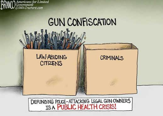 joe biden gun confiscation law abiding citizens criminals