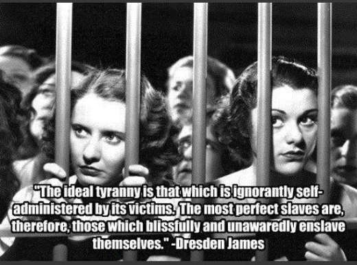 quote dresde james ideal tyranny self administered blissfully unaware enslave themselves