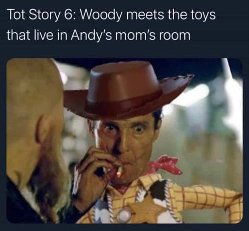 toy story woody meets toys moms bedroom