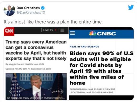tweet dan crenshaw vaccine trump biden plan