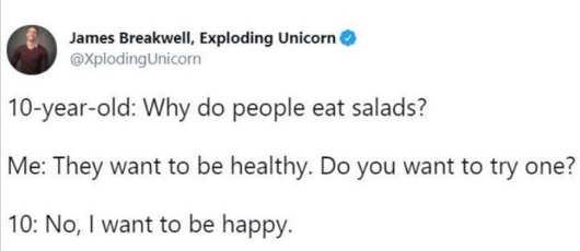 tweet james breakwell 10 year old salads