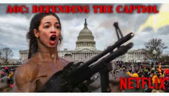 aoc defending capitol netflix